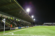 The New Lawn, home of Forest Green Rovers during the EFL Sky Bet League 2 match between Forest Green Rovers and Carlisle United at the New Lawn, Forest Green, United Kingdom on 28 January 2020.
