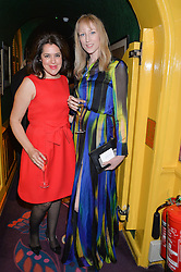 Left to right, EMMA FRANCE and JADE PARFITT at the mothers2mothers 15 Years of Wonder Women at held at Annabel's, Berekely Square, London on 9th November 2016.