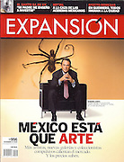 Mauricio Ramírez, Industrail & Commercial Photographer in Houston, TX. Corporate Photography for Magazine Cover: Eugenio López, Jumex.
