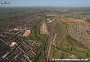 aerial photograph of Toton Nottingham Nottinghamshire  England Great Britain UK
