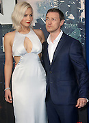May 9, 2016 -   Jennifer Lawrence and James McAvoy attending 'X-Men Apocalypse' Global Fan Screening at BFI Imax in London, UK.<br /> ©Exclusivepix Media