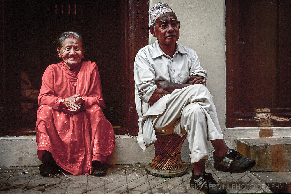 A couple in Pokhara