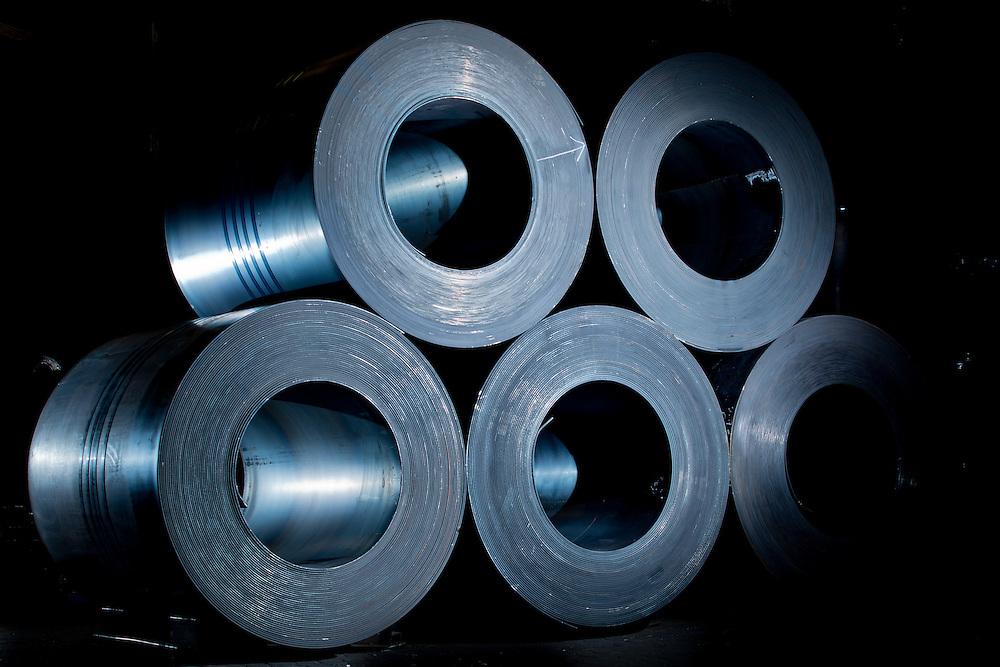 Belo Horizonte_MG, Brasil.<br /> <br /> Siderurgica em Belo Horizonte, Minas Gerais.<br /> <br /> Steel Products in Belo Horizonte, Minas Gerais.<br /> <br /> Foto: LEO DRUMOND / NITRO
