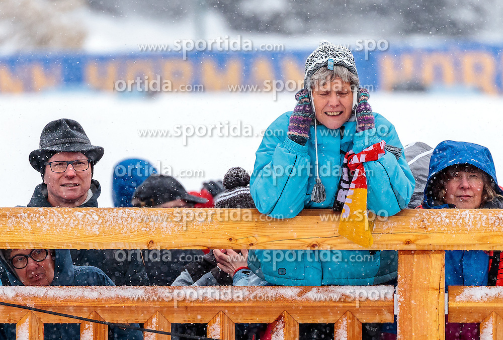 17.02.2017, Biathlonarena, Hochfilzen, AUT, IBU Weltmeisterschaften Biathlon, Hochfilzen 2017, Staffel Damen, im Bild Fans // Fans during Womens Relay of the IBU Biathlon World Championships at the Biathlonarena in Hochfilzen, Austria on 2017/02/17. EXPA Pictures © 2017, PhotoCredit: EXPA/ JFK