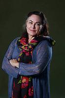 Amy Bloom.<br /> Edinburgh International Book Festival 2014 photos taken in Charlotte Square Gardens. Edinburgh. Pako Mera 24/08/201