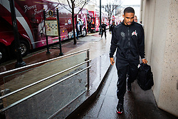 The Oklahoma Sooners arrive at the Omni Hotel on Monday, Dec. 23, 2019, in Atlanta. LSU will face Oklahoma in the 2019 College Football Playoff Semifinal at the Chick-fil-A Peach Bowl. (Jason Parkhurst via Abell Images for the Chick-fil-A Peach Bowl)