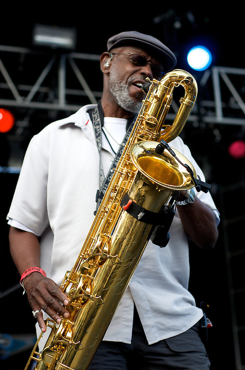 The Dirty Dozen Brass Band at North Coast Music Festival