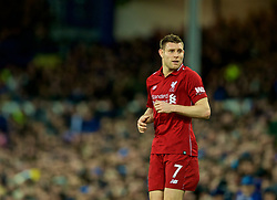 LIVERPOOL, ENGLAND - Sunday, March 3, 2019: Liverpool's James Milner during the FA Premier League match between Everton FC and Liverpool FC, the 233rd Merseyside Derby, at Goodison Park. (Pic by Paul Greenwood/Propaganda)
