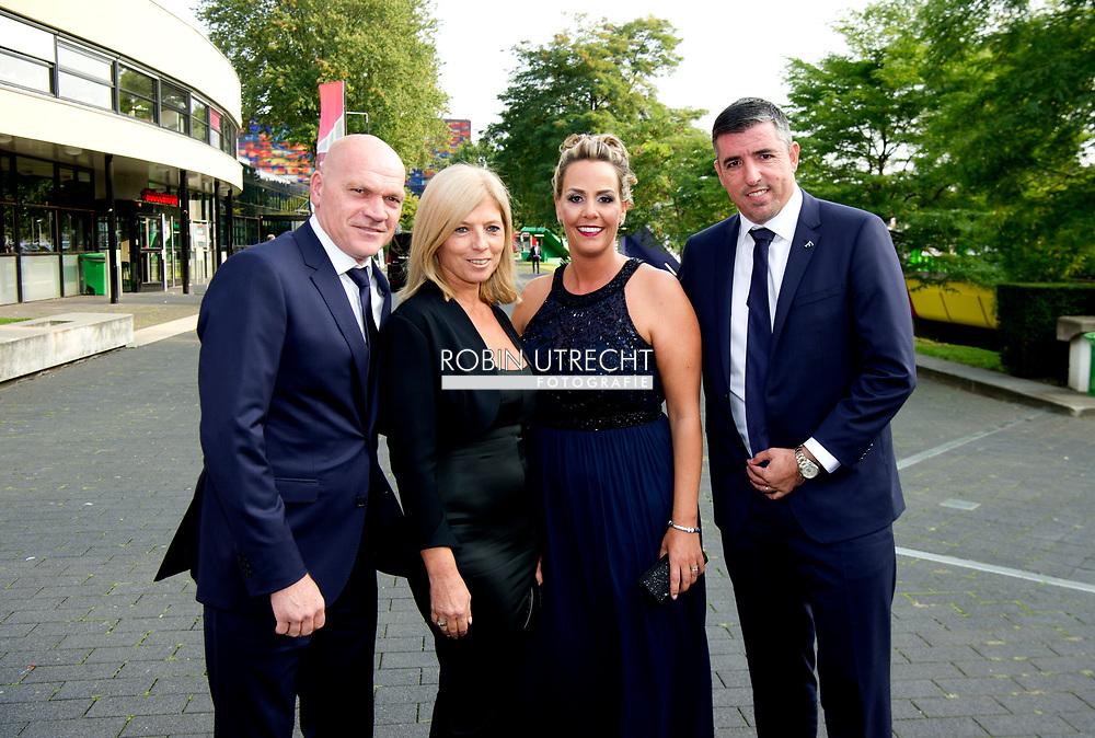 HILVERSUM Jan Wouters en Roy Mackaay  voetballer van het jaar gala verkiezing , copyrght robin utrecht
