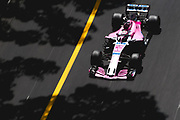 May 23-27, 2018: Monaco Grand Prix. Sergio Perez (MEX), Sahara Force India, VJM11