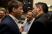 GARY WEBB AND JAKE MILLER, Exhibition of New sculptures by Gary webb incorporating man-made and natural objects. The Approach, Mortimer St. London. 15 May 2008. Afterwards at Mark Hix's restaurant. Smithfield.  *** Local Caption *** -DO NOT ARCHIVE-© Copyright Photograph by Dafydd Jones. 248 Clapham Rd. London SW9 0PZ. Tel 0207 820 0771. www.dafjones.com.