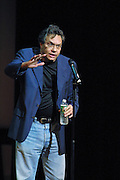 Comedian Lewis Black performed at The Gerry Red Wilson Found. Comedy Benefit to raise awareness for Spiral Meningitis at the Town Hall in New York City on June 11, 2002 as part of the Toyota Comedy Series.<br /> photo by Jen Lombardo/PictureGroup