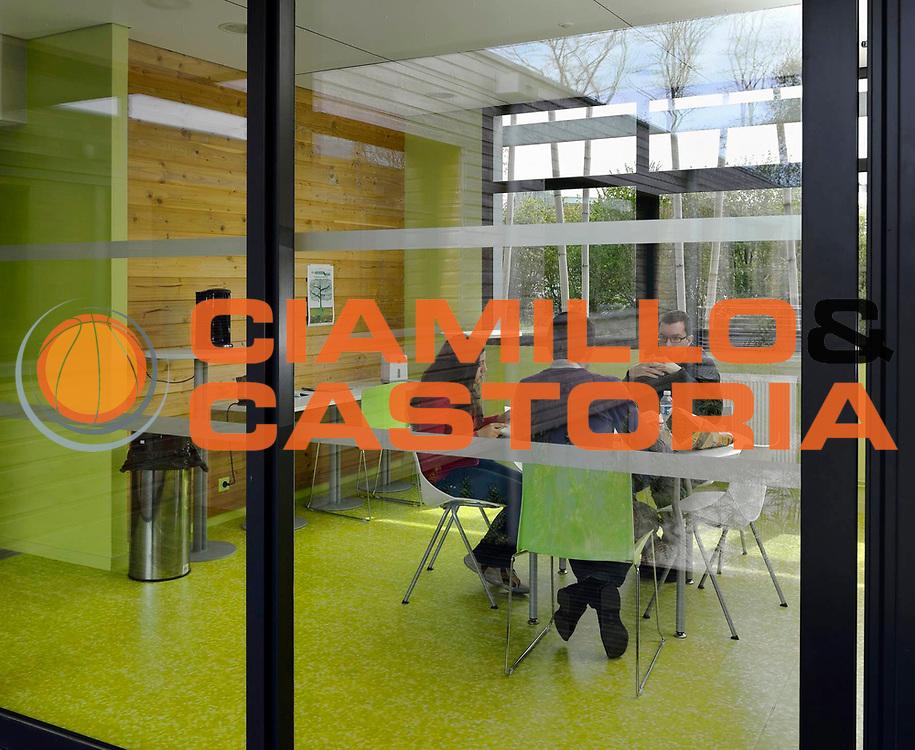 DESCRIZIONE : Pepiniere des Innovations de Quimper communaute<br /> GIOCATORE : ARCHIPOLE<br /> SQUADRA : Architecte Pierre Yves Le Bot<br /> EVENTO : Architecture<br /> GARA : <br /> DATA : 30/04/2013<br /> CATEGORIA : Interieur cafetaria<br /> SPORT : <br /> AUTORE : JF Molliere<br /> Galleria : France Architecture 2013 <br /> Fotonotizia : Pepiniere des Innovations de Quimper communaute<br /> Archipole <br /> Predefinita :