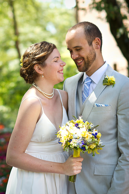 Wedding of Kennon Landis and Tess Cohen in Grinnell, IA on August 5, 2012.