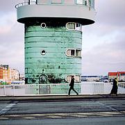 Knippelsbro bridge opening tower, Copenhagen, Denmark (December 2004)