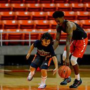 UTEP Men's Basketball Orange vs White Scrimmage, Don Haskins Center August 12, 2017