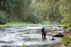 Alsea River Fishing Photos - Stock images