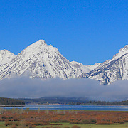 Grand Tetons, WY - Viewpoint - Panoramic