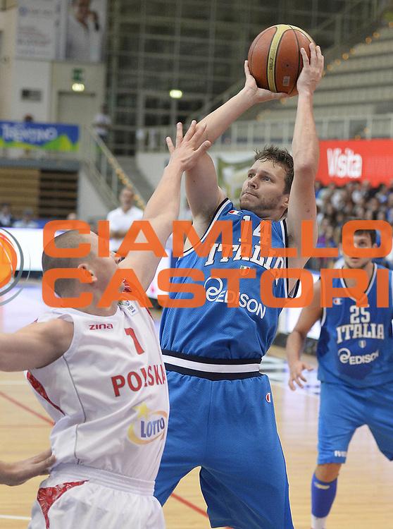 DESCRIZIONE : Trentino Basket Cup Italia-Polonia<br /> GIOCATORE : Travis Diener<br /> CATEGORIA : tiro penetrazione<br /> SQUADRA : Nazionale Italiana<br /> EVENTO : Trentino Basket Cup<br /> GARA : Italia-Polonia<br /> DATA : 09/08/2013<br /> SPORT : Pallacanestro <br /> AUTORE : Agenzia Ciamillo-Castoria/R. Morgano<br /> Galleria : FIP nazionali 2013  <br /> Fotonotizia : Trentino basket cup Italia-Polonia<br /> Predefinita :