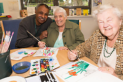 The Haynes Centre is a specialist dementia day care centre for Haringey residents with moderate/severe dementia. The centre provides social, intellectual and physical stimulation to aid in the wellbeing of people with dementia. It also provides information, support and guidance to people living with dementia, their family and carers. London Borough of Haringey, UK 2014