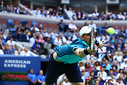FLUSHING MEADOW, NY - SEPTEMBER 10: <br /> KEVIN ANDERSON (RSA) during the men's final of the 2017 US Open on September 10, 2017 at Billie Jean King National Tennis Center, Flushing Meadow, NY.(Photo by Chaz Niell/Icon Sportswire)