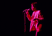 Rolling Stones frontman Mick Jagger in concert during the Stones World Tour in 1978.