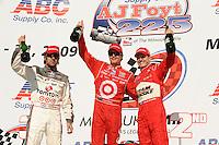 Scott Dixon, Ryan Briscoe, Dario Franchitti, Indy Car Series
