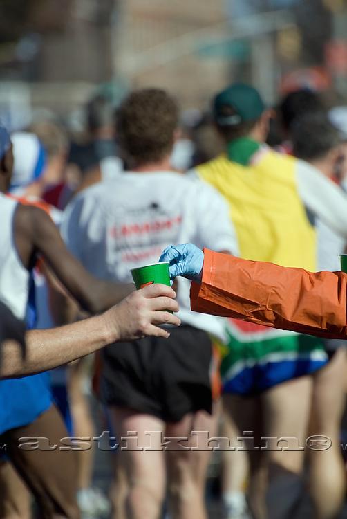 Hands and Marathon