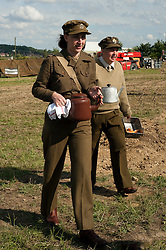 Spam 1940s Wartime Weekend Heckmondwike day one.<br /> 9th July 2011.<br /> Images &copy; Paul David Drabble