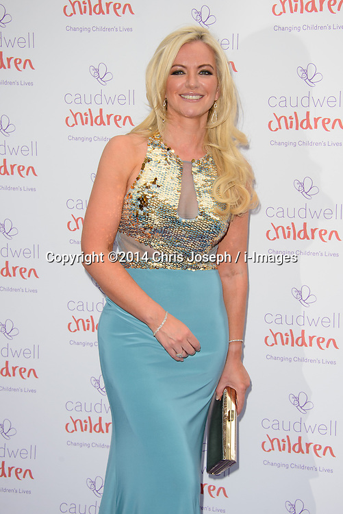 Michelle Mone attends the Caudwell Butterfly Ball. Grosvenor House Hotel, Park Lane, London, United Kingdom. Thursday, 15th May 2014. Picture by Chris Joseph / i-Images