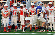 Elyria Pioneers at Midview Middies varsity football on September 7, 2012 at Midview High School.