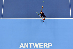 October 20, 2017 - Anvers, Belgique - Jo-Wilfried Tsonga  (Credit Image: © Panoramic via ZUMA Press)