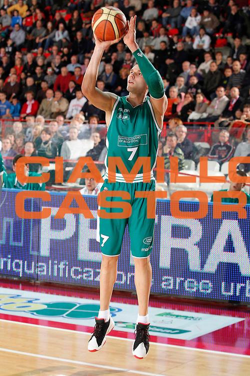 DESCRIZIONE : Varese Campionato Lega A 2011-12 Cimberio Varese Benetton Treviso<br /> GIOCATORE : Sani Becirovic<br /> CATEGORIA : Tiro Three Points<br /> SQUADRA : Benetton Treviso<br /> EVENTO : Campionato Lega A 2011-2012<br /> GARA : Cimberio Varese Benetton Treviso<br /> DATA : 03/01/2012<br /> SPORT : Pallacanestro<br /> AUTORE : Agenzia Ciamillo-Castoria/G.Cottini<br /> Galleria : Lega Basket A 2011-2012<br /> Fotonotizia : Varese Campionato Lega A 2011-12 Cimberio Varese Benetton Treviso<br /> Predefinita :
