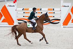 Marlon Modolo Zanotelli, (BRA), AD Clouwni - Team & Individual Competition Jumping Speed - Alltech FEI World Equestrian Games™ 2014 - Normandy, France.<br /> © Hippo Foto Team - Leanjo De Koster<br /> 02-09-14