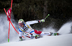19.12.2016, Grand Risa, La Villa, ITA, FIS Ski Weltcup, Alta Badia, Riesenslalom, Herren, 1. Lauf, im Bild Justin Murisier (SUI) // Justin Murisier of Switzerland in action during 1st run of men's Giant Slalom of FIS ski alpine world cup at the Grand Risa race Course in La Villa, Italy on 2016/12/19. EXPA Pictures © 2016, PhotoCredit: EXPA/ Johann Groder