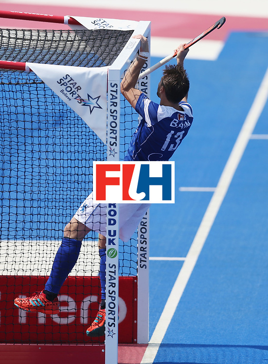 LONDON, ENGLAND - JUNE 19:  Kenny Bain of Scotland during the Hero Hockey World League Semi-Final match between Scotland and Pakistan at Lee Valley Hockey and Tennis Centre on June 19, 2017 in London, England.  (Photo by Alex Morton/Getty Images)