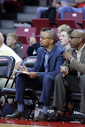 "05 November 2017:  Brian ""Penny"" Collins Brian Reese  during aLewis College Flyers and Illinois State Redbirds in Redbird Arena, Normal IL"