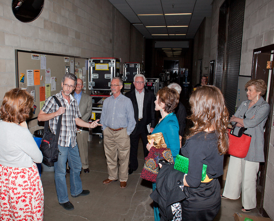 Backstage Tour of Jersey Boys at Bass Concert Hall