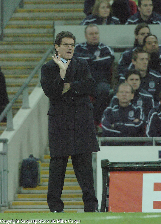 FABIO CAPELLO, ENGLAND MANAGER,  England-Switzerland, International Friendly, WEMBLEY, 6/2/08