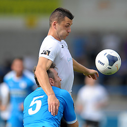 TELFORD COPYRIGHT MIKE SHERIDAN Aaron Williams of Telford during the National League North fixture between AFC Telford United and Chester FC at the New Bucks Head on Saturday, September 14, 2019<br /> <br /> Picture credit: Mike Sheridan<br /> <br /> MS201920-018