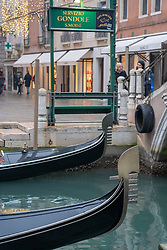 General views of Venice. From a series of travel photos in Italy. Photo date: Sunday, February 10, 2019. Photo credit should read: Richard Gray/EMPICS Entertainment