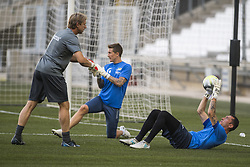 July 26, 2017 - Marseille, FRANCE - Oostende's Silvio Proto pictured in action during a training session of Belgian first division soccer team KV Oostende ahead of the first leg of the third qualifying round for the UEFA Europa League competition, Wednesday 26 July 2017 in Marseille. KV Oostende plays against Olympic Marseille on Thursday...BELGA PHOTO LAURIE DIEFFEMBACQ (Credit Image: © Laurie Dieffembacq/Belga via ZUMA Press)