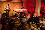 The Montrose Composer's Club (MCC) performing at The Brewery Tap, Folkestone as part of the Profound Sound Live and Experimental Sound Festival, February 2016.