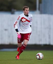 Livingston keeper Darren Jamieson.<br /> Falkirk 4 v 1 Livingston, Scottish Championship game played today at the Falkirk Stadium.