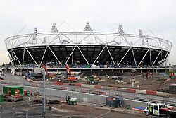 Olympic bosses back West Ham bid, West Ham have won the backing of Olympic bosses to take over the 2012 stadium in east London after the Games, BBC London reports.© under license to London News Pictures. .2010,12,10,   Today  (Friday)  .The Olympic Stadium being built in Stratford, East London, will host the Athletics and Paralympic Athletics events at the London 2012 Games, as well as the Opening and Closing Ceremonies..Picture credit should read Grant Falvey/London News Pictures...