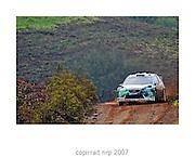 WRC PORTUGAL 2007 MATHEW WILSON<br /> FORD FOCUS RS WRC 06<br /> STOBART VK M-SPORT RALLY TEAM