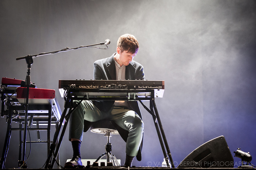 James Blake Headlining the first day at Field Day Festival in London on Saturday, 11 June 2016.