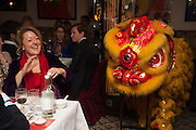 Chinese New Year dinner given by Sir David Tang. China Tang. Park Lane. London. 4 February 2013.