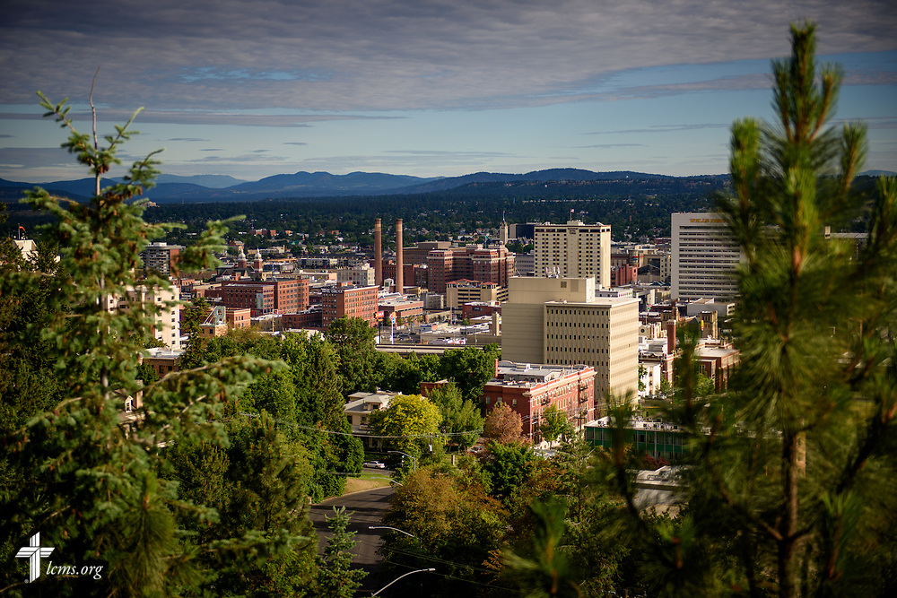 A view of the city of Spokane, Wash., on Sunday, June 18, 2017. LCMS Communications/Erik M. Lunsford