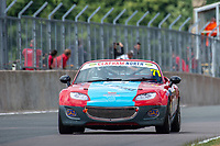 #71 Geoff GOURIET Mazda MX-5 Mk3  during BRSCC Mazda MX-5 Super Series  as part of the BRSCC NW Mazda Race Day  at Oulton Park, Little Budworth, Cheshire, United Kingdom. June 16 2018. World Copyright Peter Taylor/PSP. Copy of publication required for printed pictures. http://archive.petertaylor-photographic.co.uk